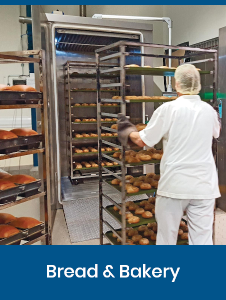 Vacuum cooling for Bread & Bakery