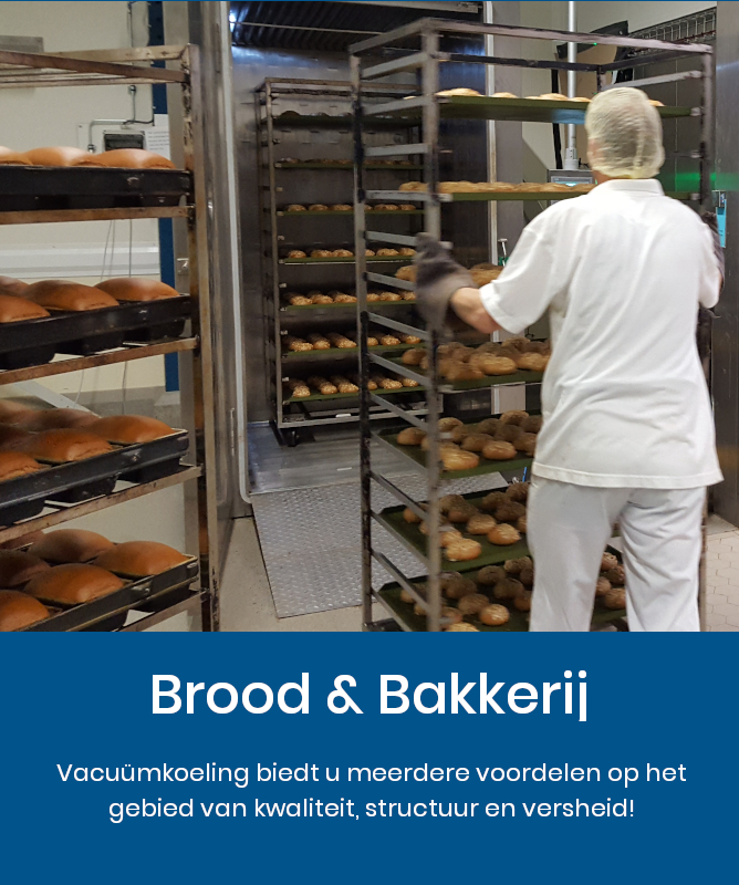 Brood & Bakkerij vacuum cooling